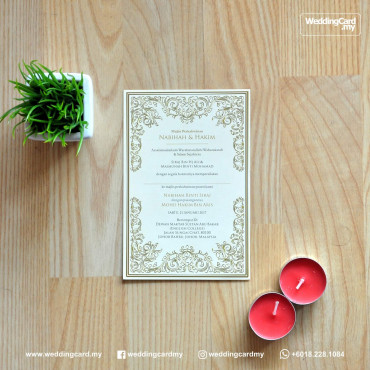 Offset Label Card
