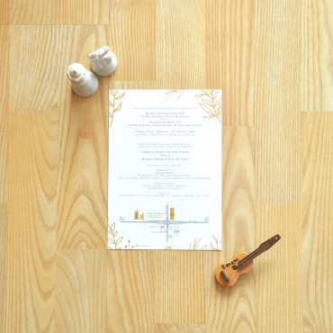 Offset Round Corner Business Card